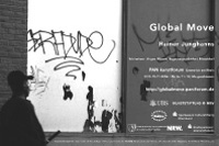 rainer junghanns: global move / exhibition poster