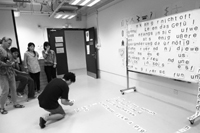 workshop at the academy of visual arts, hkbu / hong kong