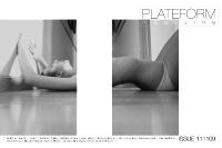 plateform magazine / cover / issue 11 / november 2009