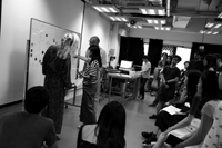 iam workshop at the academy of visual arts, hkbu