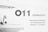 ostrale´011 / flyer / international art festival / dresden