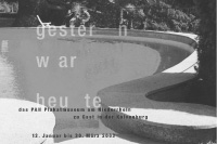 gestern war heute / exhibition poster / kolvenburg, billerbeck / 59,4x84cm / 2003