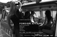 foreign affairs / exhibition poster / pan kunstforum / 84x59,4cm / 2005